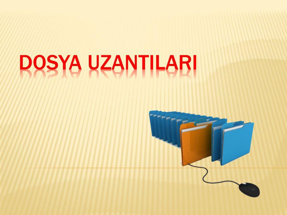 Dosya UzantIlarI
