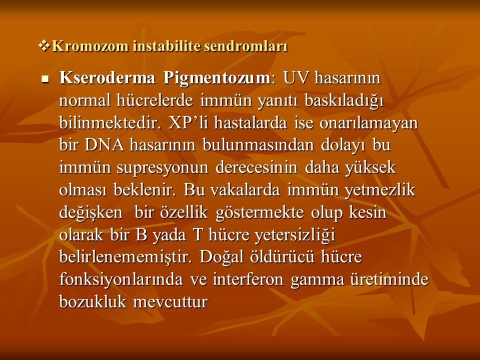 Kromozom instabilite sendromları