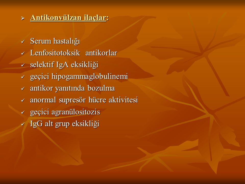 Antikonvülzan ilaçlar: