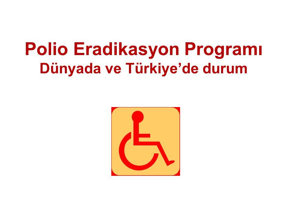 Polio Eradikasyon Programı Dünyada ve Türkiye'de durum