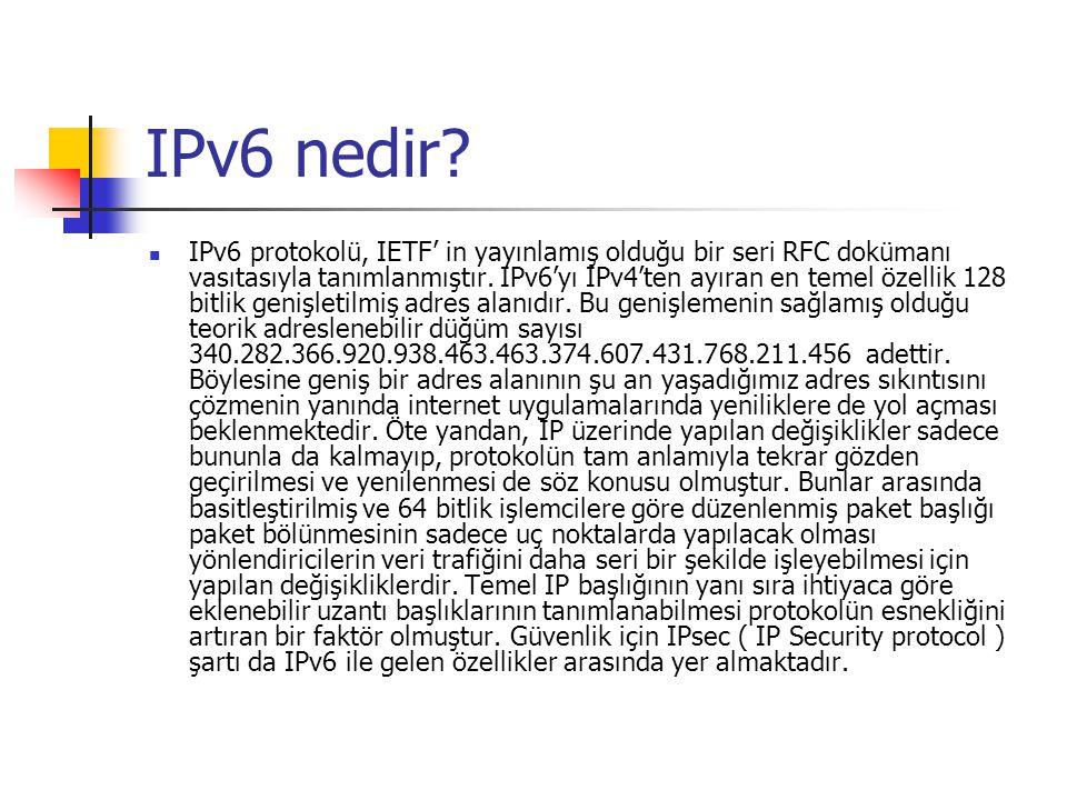 IPv6 nedir
