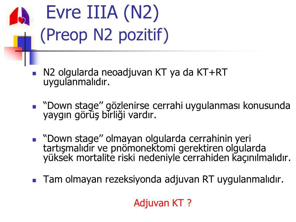 Evre IIIA (N2) (Preop N2 pozitif)
