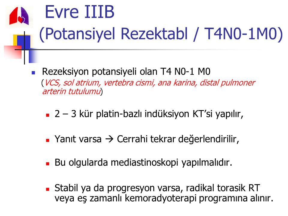 Evre IIIB (Potansiyel Rezektabl / T4N0-1M0)