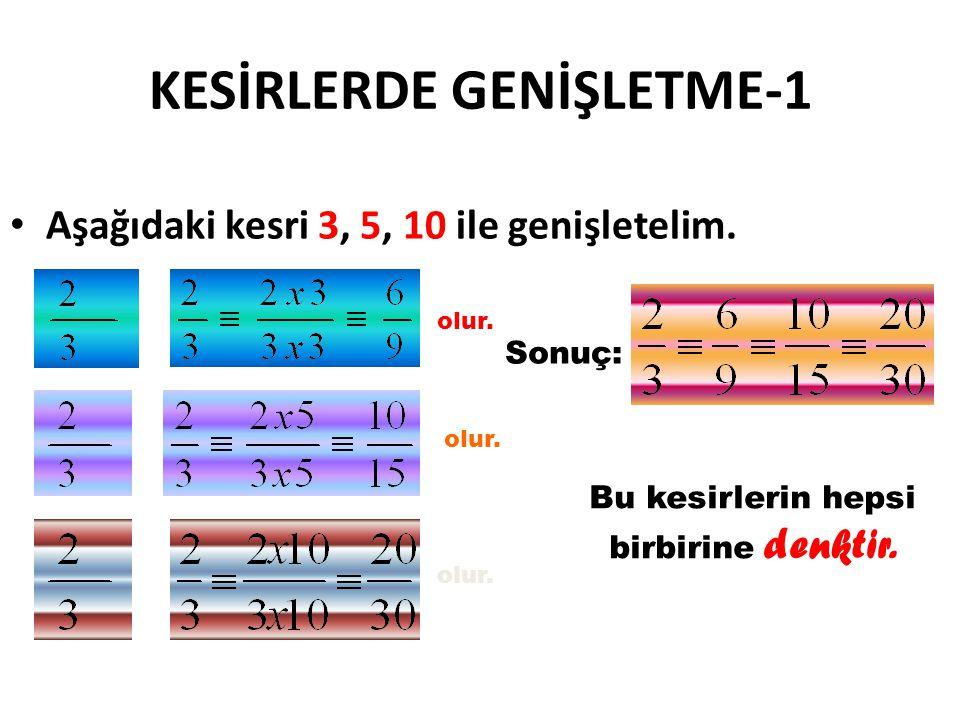 KESİRLERDE GENİŞLETME-1