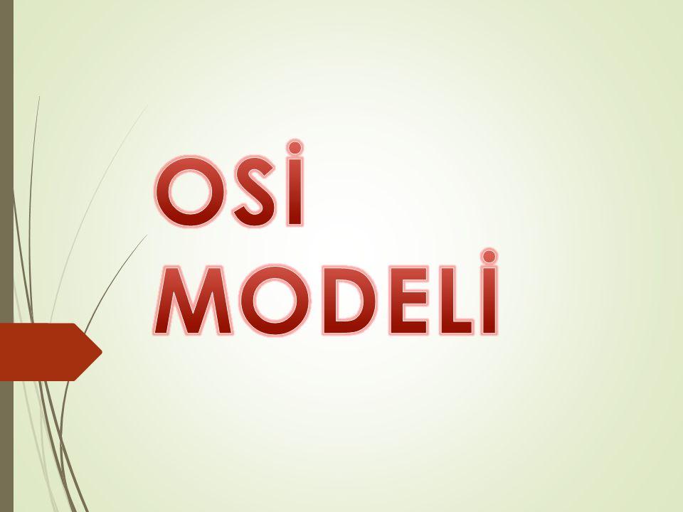 OSİ MODELİ