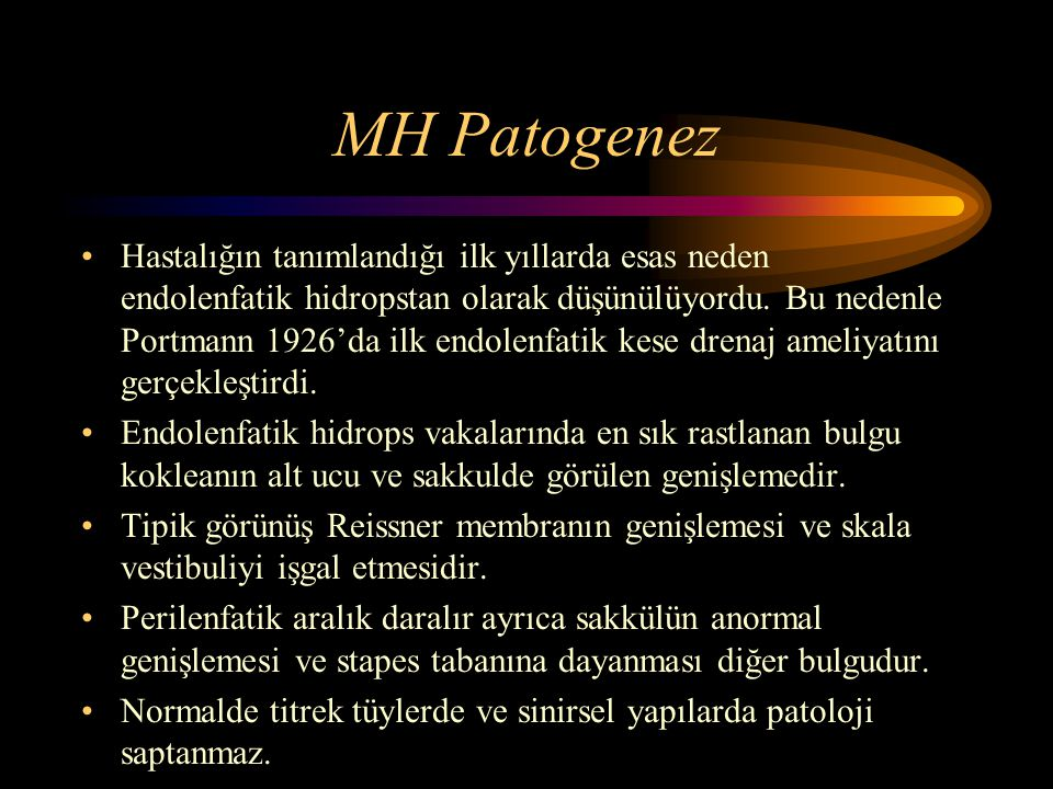 MH Patogenez