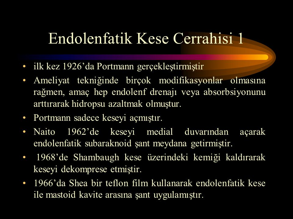 Endolenfatik Kese Cerrahisi 1