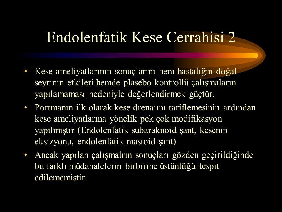 Endolenfatik Kese Cerrahisi 2