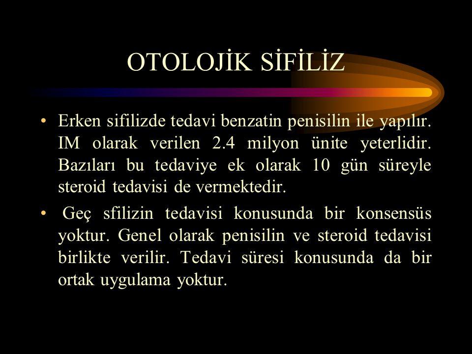 OTOLOJİK SİFİLİZ
