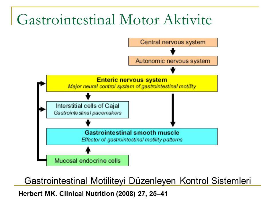 Gastrointestinal Motor Aktivite