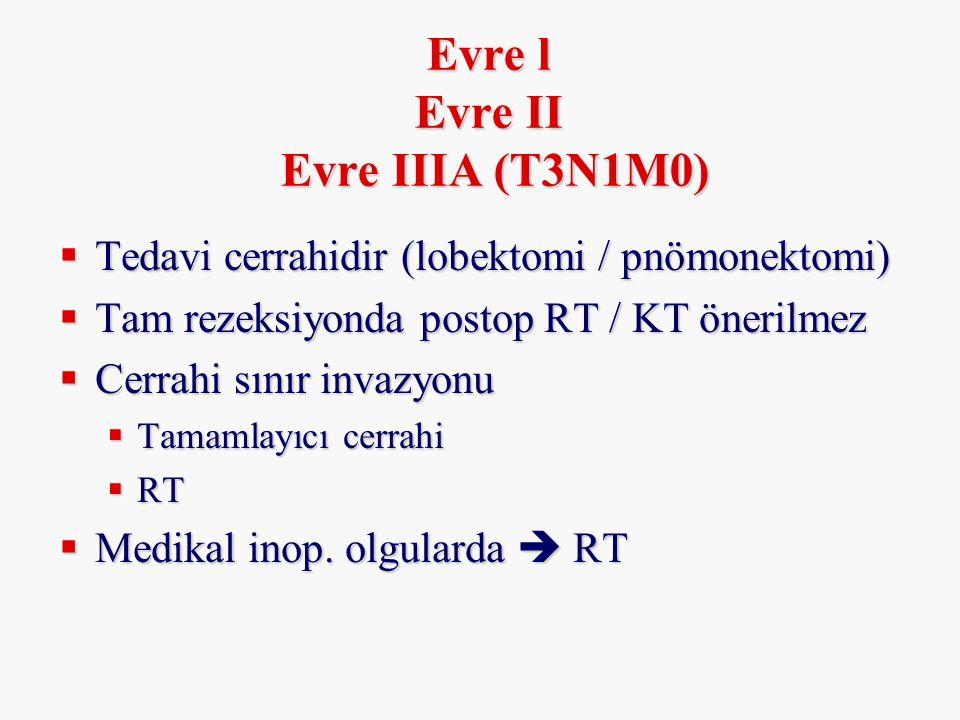 Evre l Evre II Evre IIIA (T3N1M0)