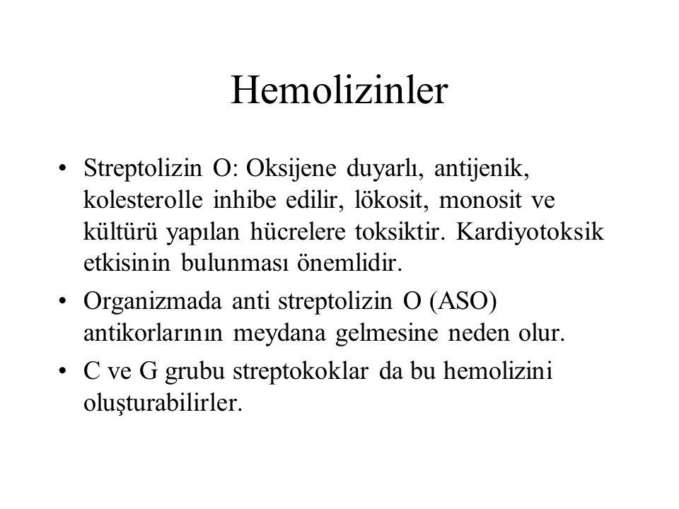 Hemolizinler