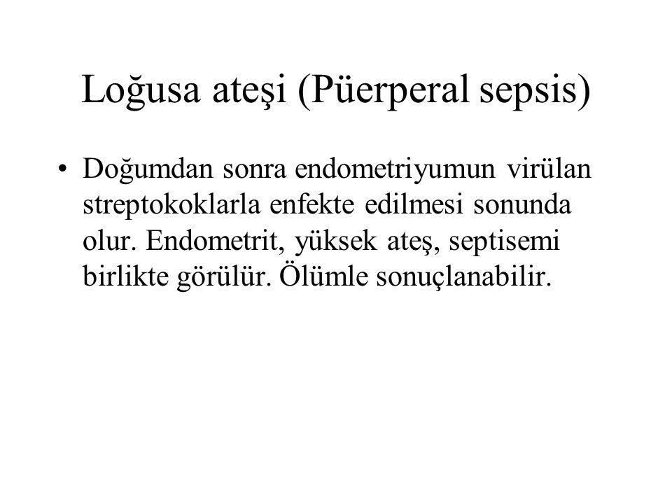 Loğusa ateşi (Püerperal sepsis)