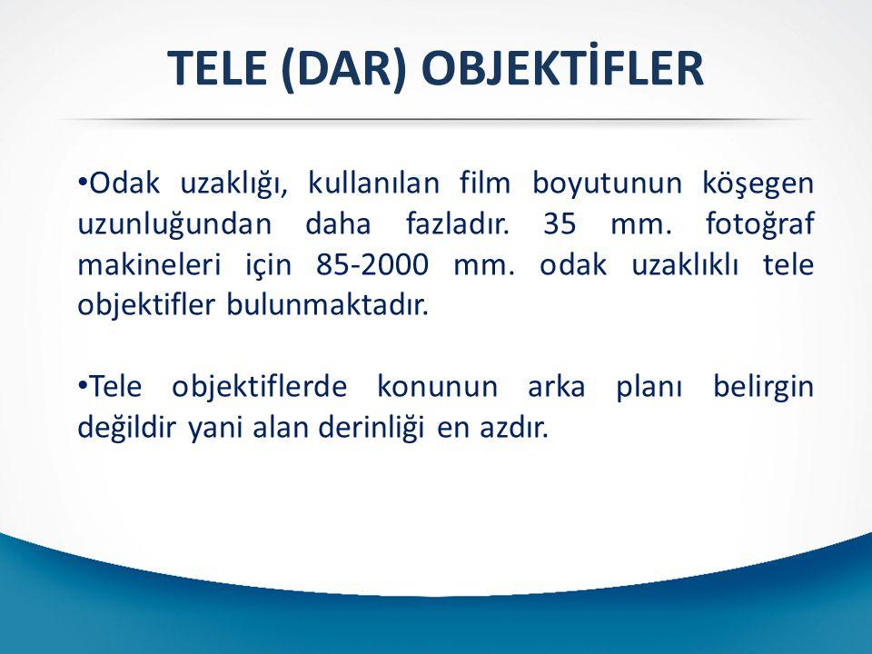 TELE (DAR) OBJEKTİFLER
