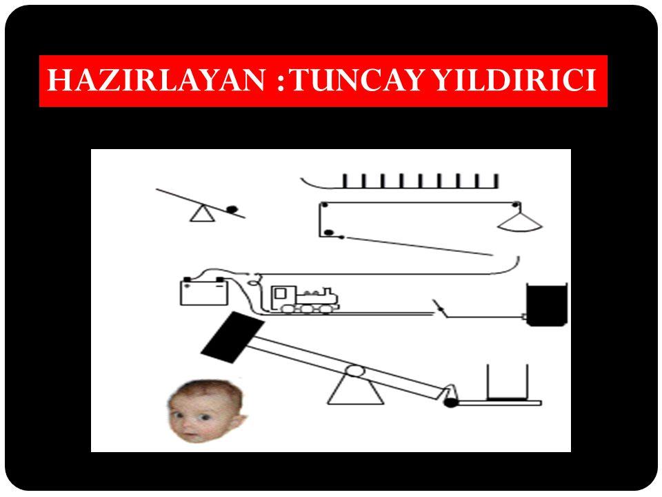 HAZIRLAYAN : TUNCAY YILDIRICI