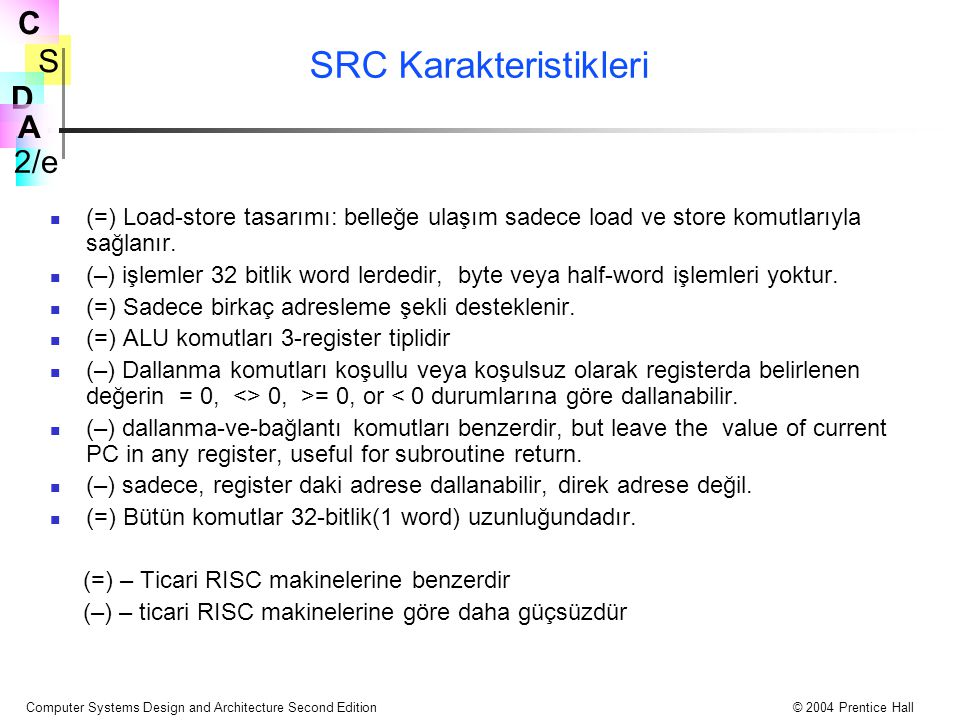 SRC Karakteristikleri