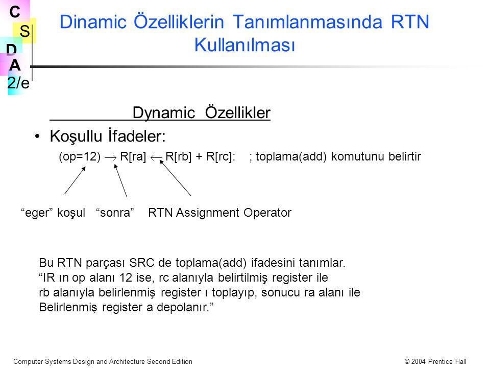 Dinamic Özelliklerin Tanımlanmasında RTN Kullanılması