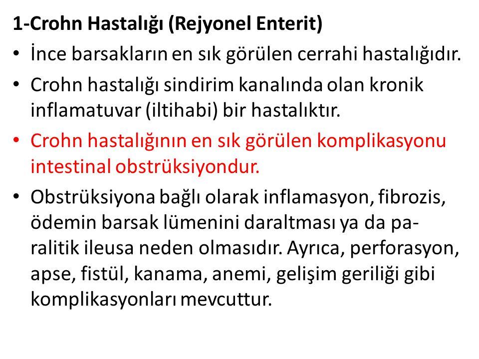 1-Crohn Hastalığı (Rejyonel Enterit)