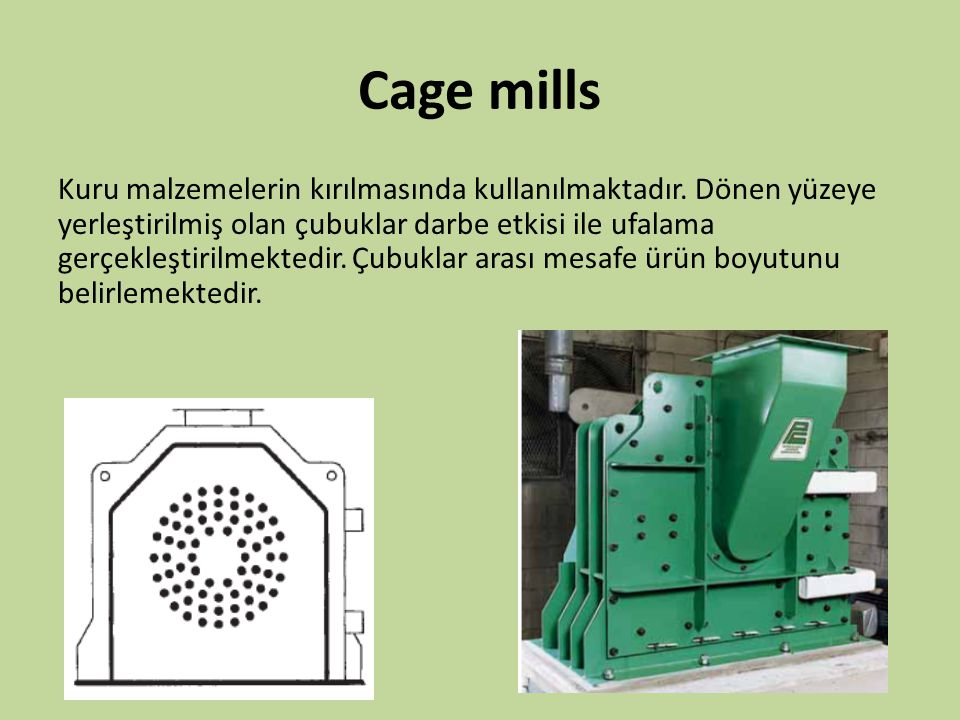 Cage mills