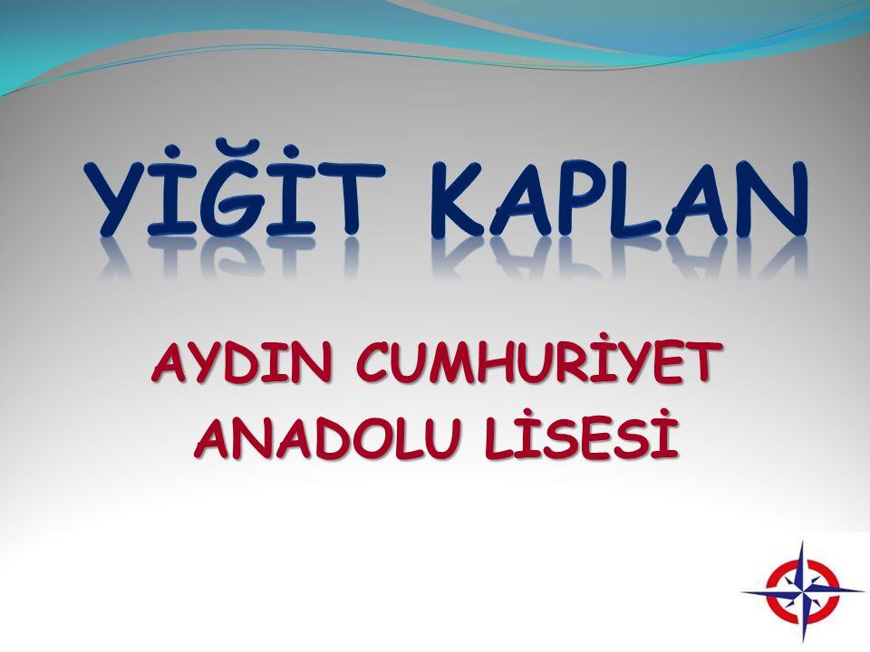 AYDIN CUMHURİYET ANADOLU LİSESİ
