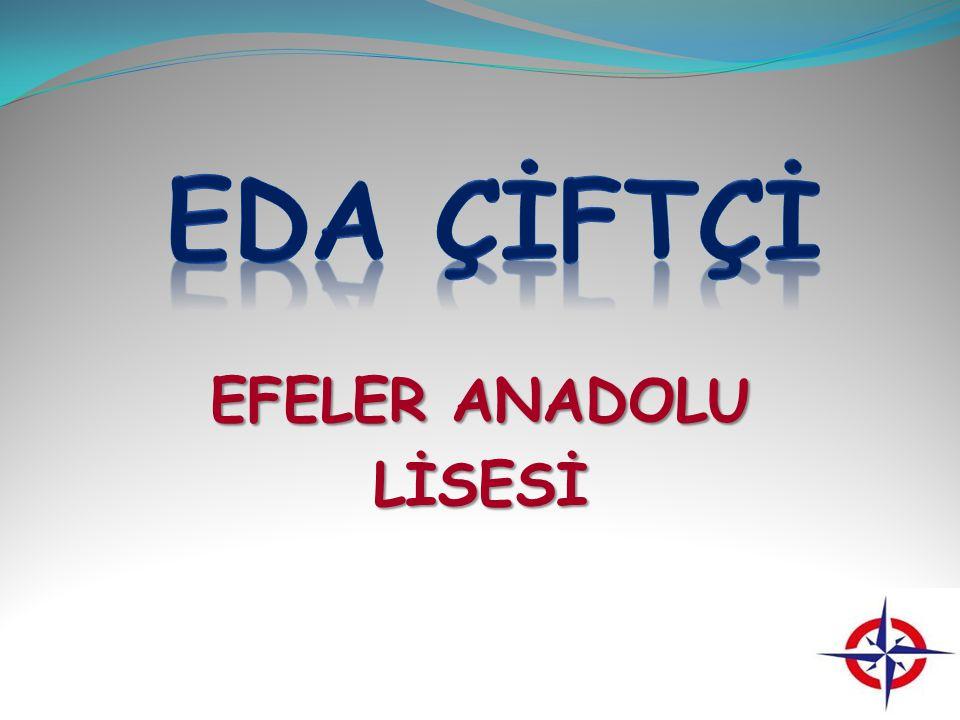 EDA ÇİFTÇİ EFELER ANADOLU LİSESİ