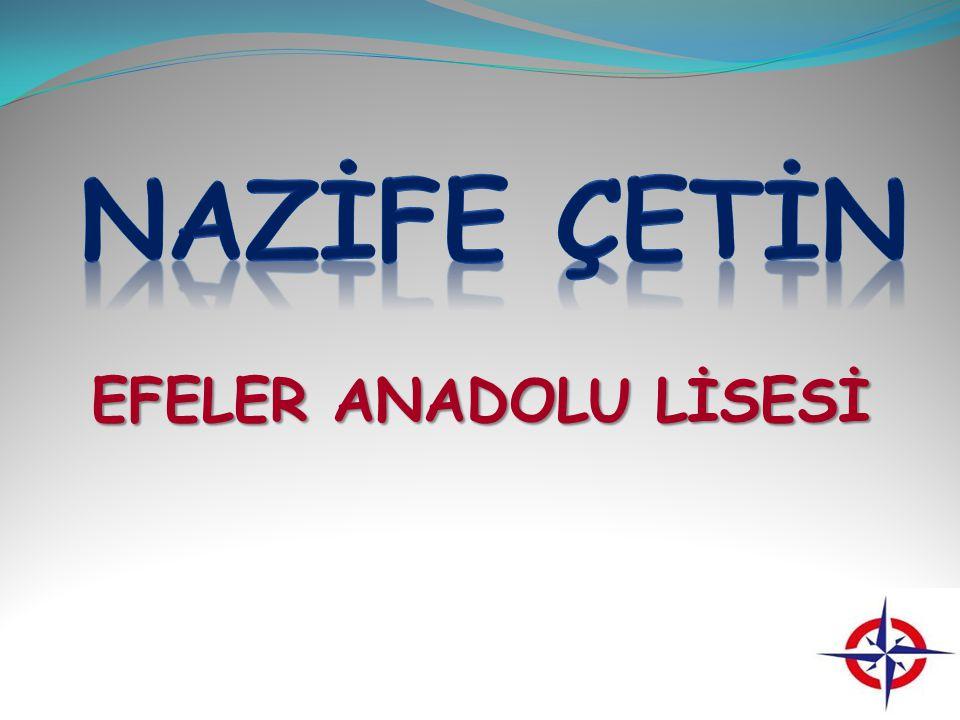 NAZİFE ÇETİN EFELER ANADOLU LİSESİ