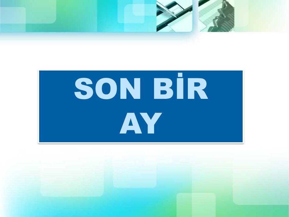 SON BİR AY