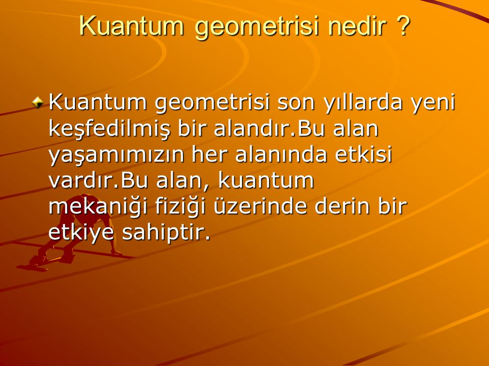 Kuantum geometrisi nedir