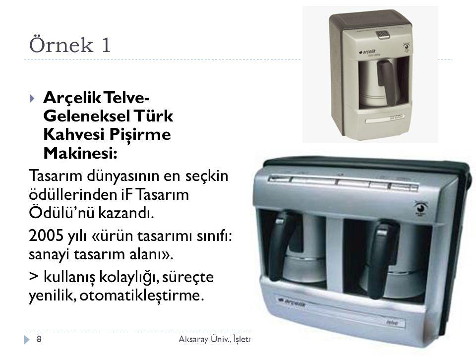 Örnek 1 Arçelik Telve- Geleneksel Türk Kahvesi Pişirme Makinesi: