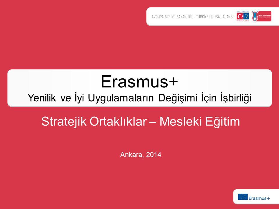 Erasmus+ Yenilik ve İyi Uygulamaların Değişimi İçin İşbirliği