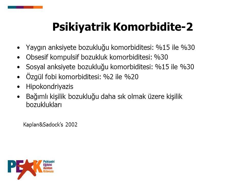 Psikiyatrik Komorbidite-2