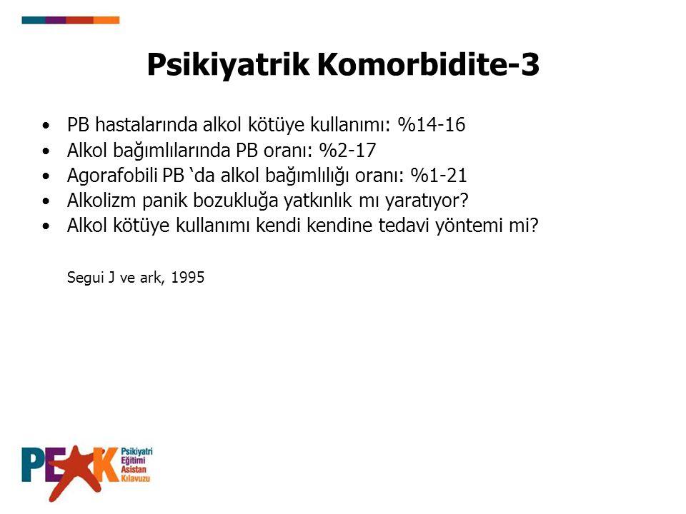 Psikiyatrik Komorbidite-3