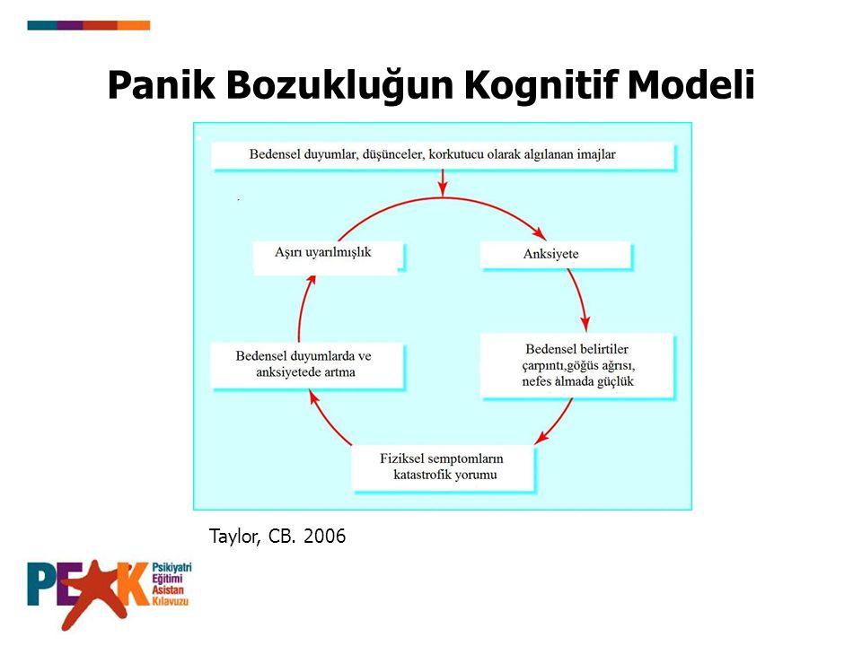 Panik Bozukluğun Kognitif Modeli