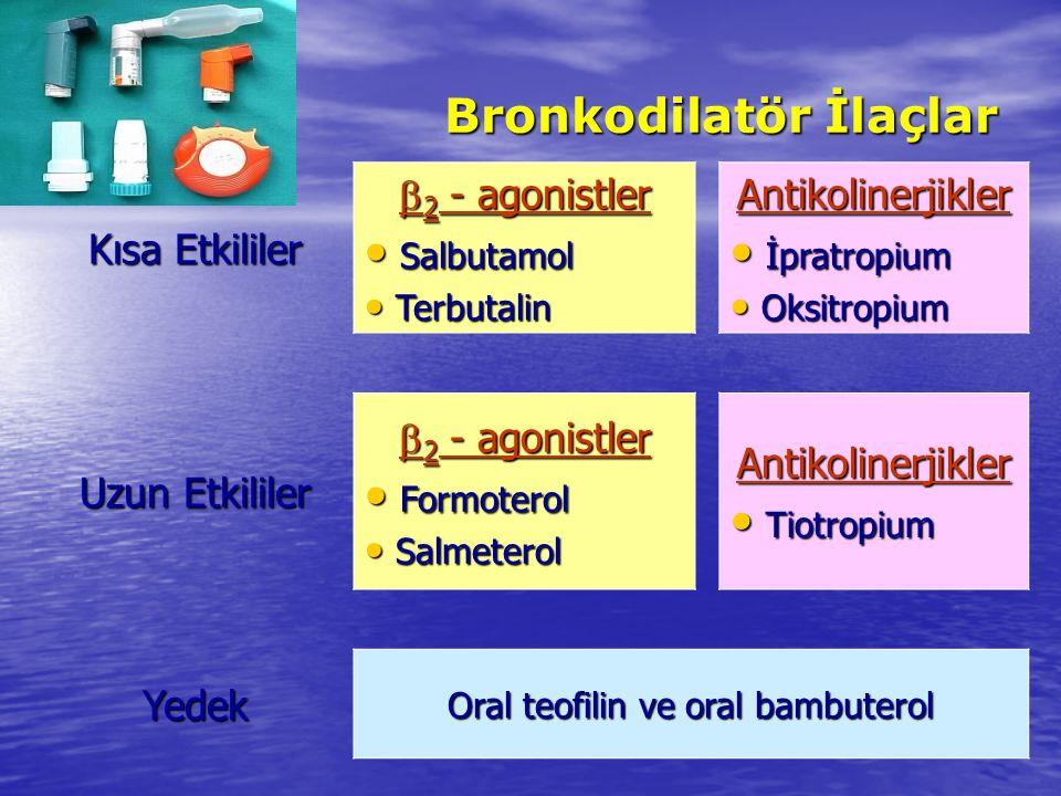 Bronkodilatör İlaçlar