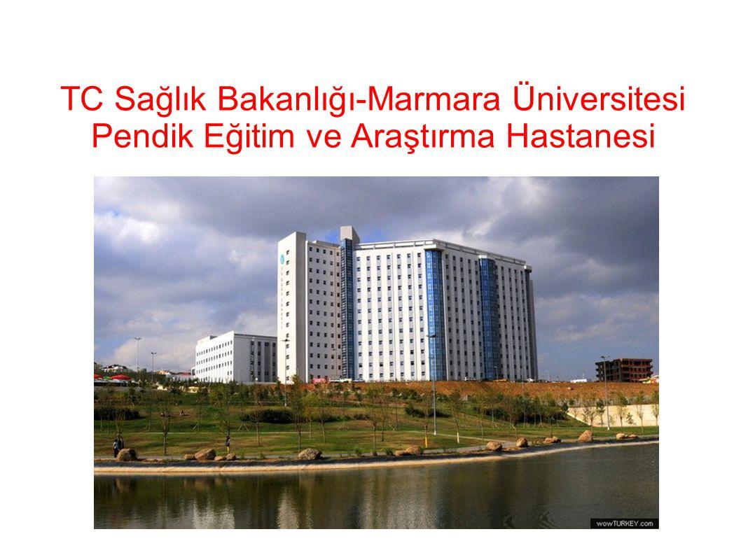 TC Sağlık Bakanlığı-Marmara Üniversitesi Pendik Eğitim ve Araştırma Hastanesi