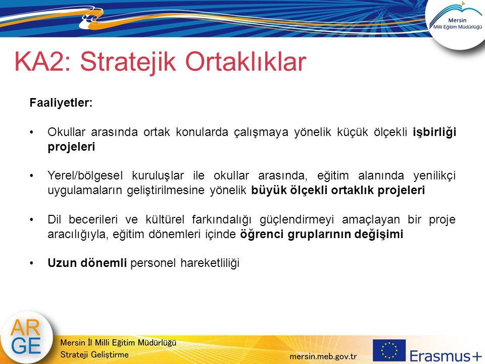 KA2: Stratejik Ortaklıklar