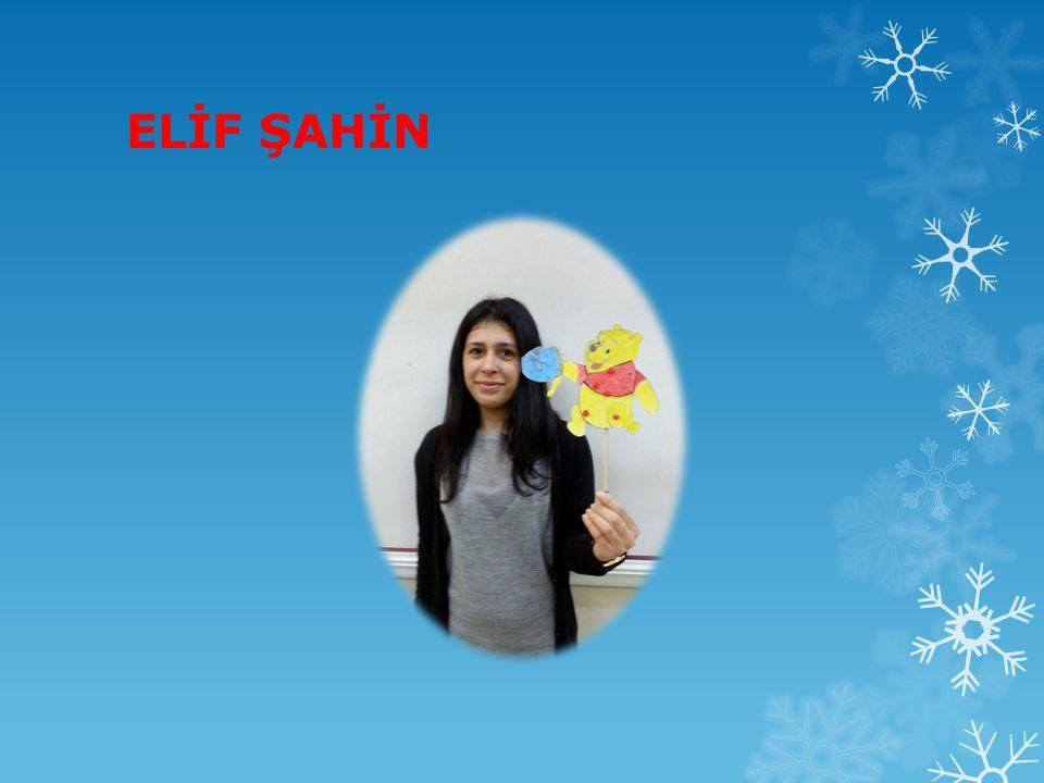 ELİF ŞAHİN