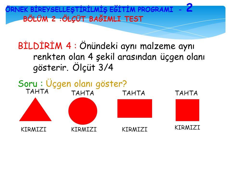 ÖRNEK BİREYSELLEŞTİRİLMİŞ EĞİTİM PROGRAMI - 2