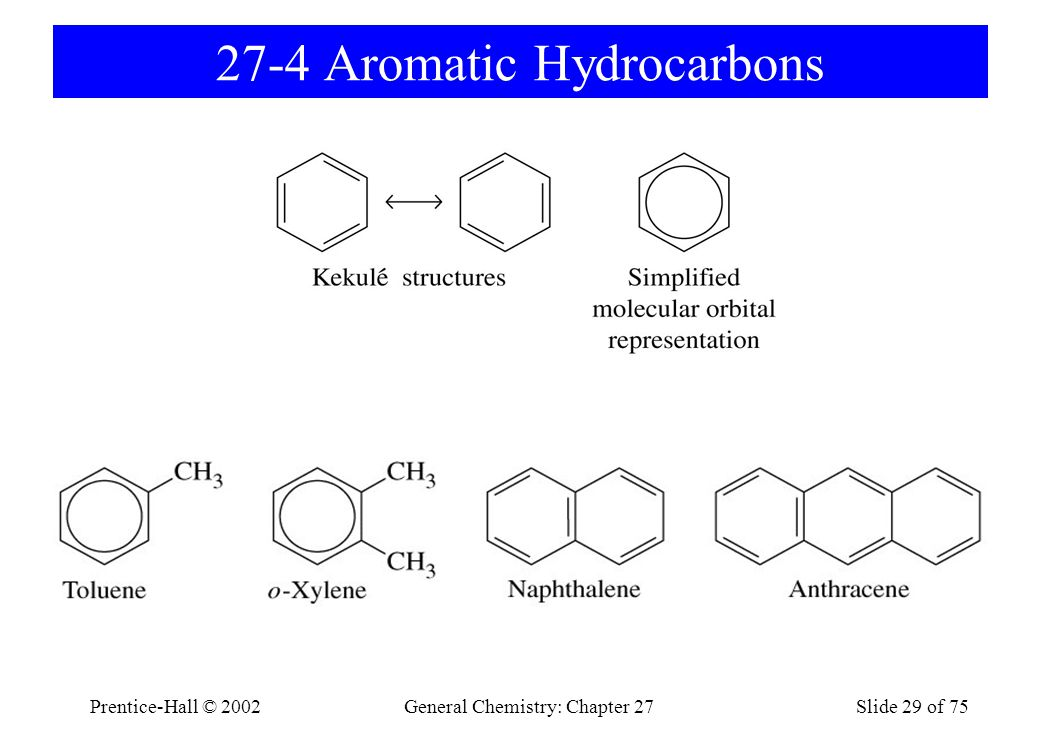 27-4 Aromatic Hydrocarbons
