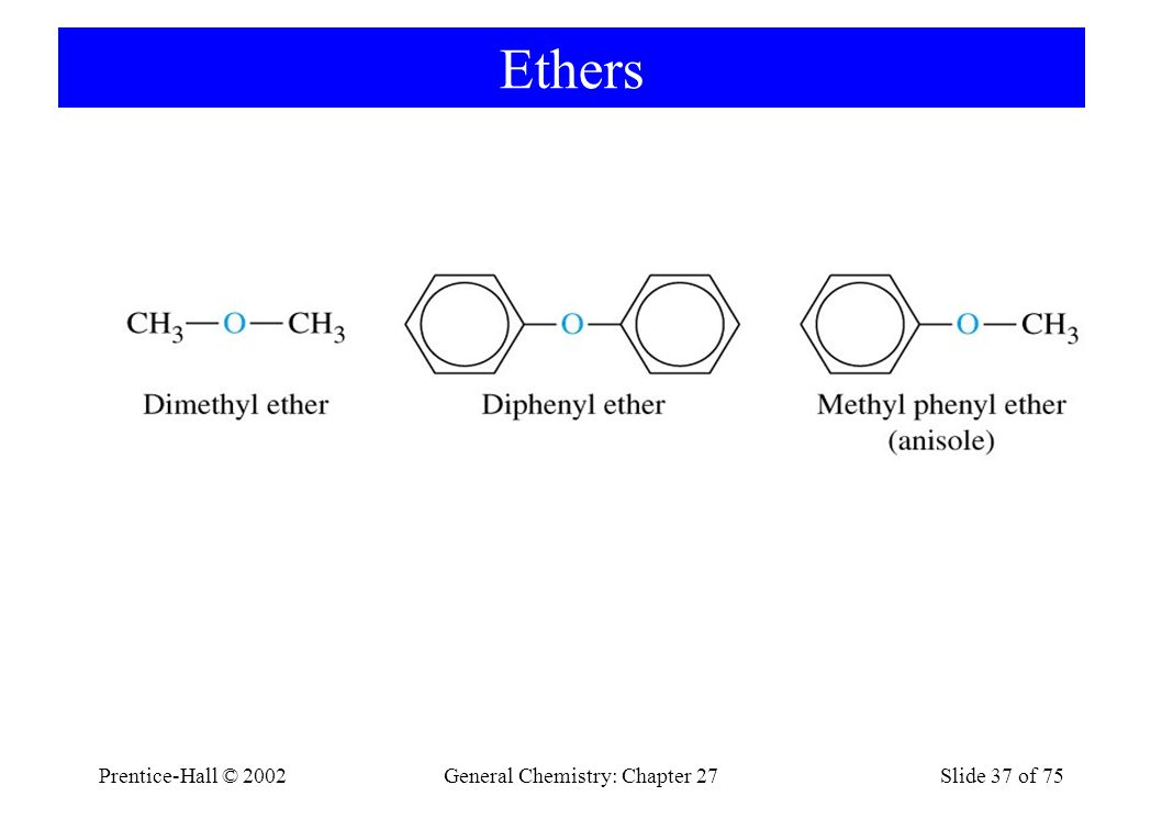 General Chemistry: Chapter 27