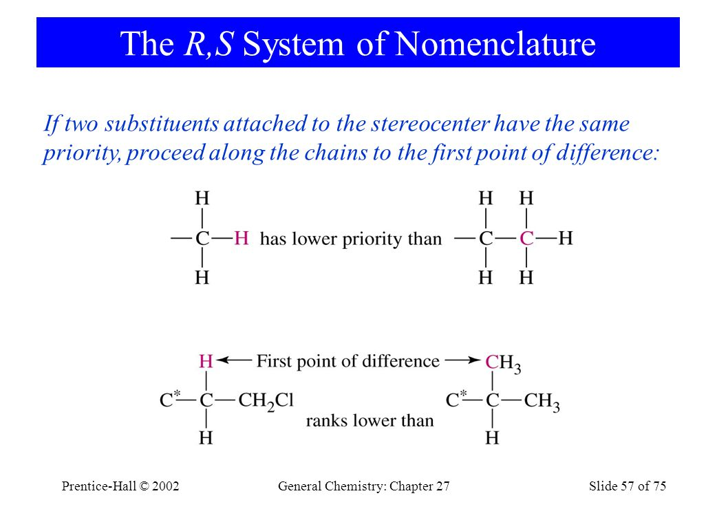 The R,S System of Nomenclature