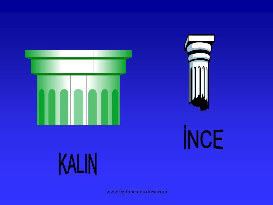 İNCE KALIN www.egitimcininadresi.com