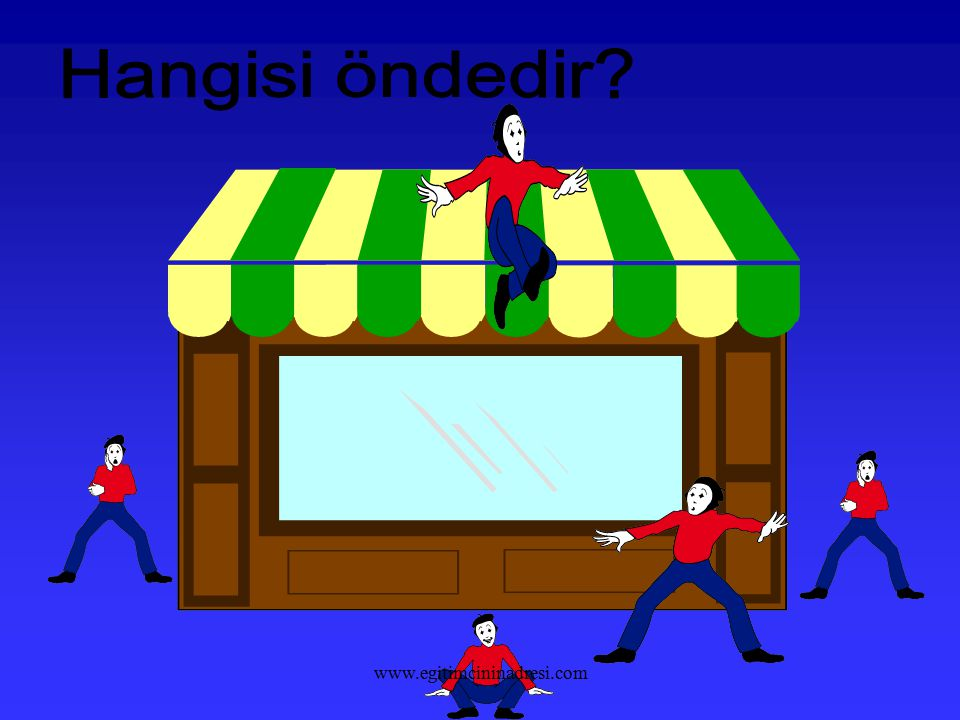 Hangisi öndedir www.egitimcininadresi.com