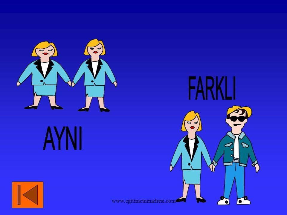 FARKLI AYNI www.egitimcininadresi.com