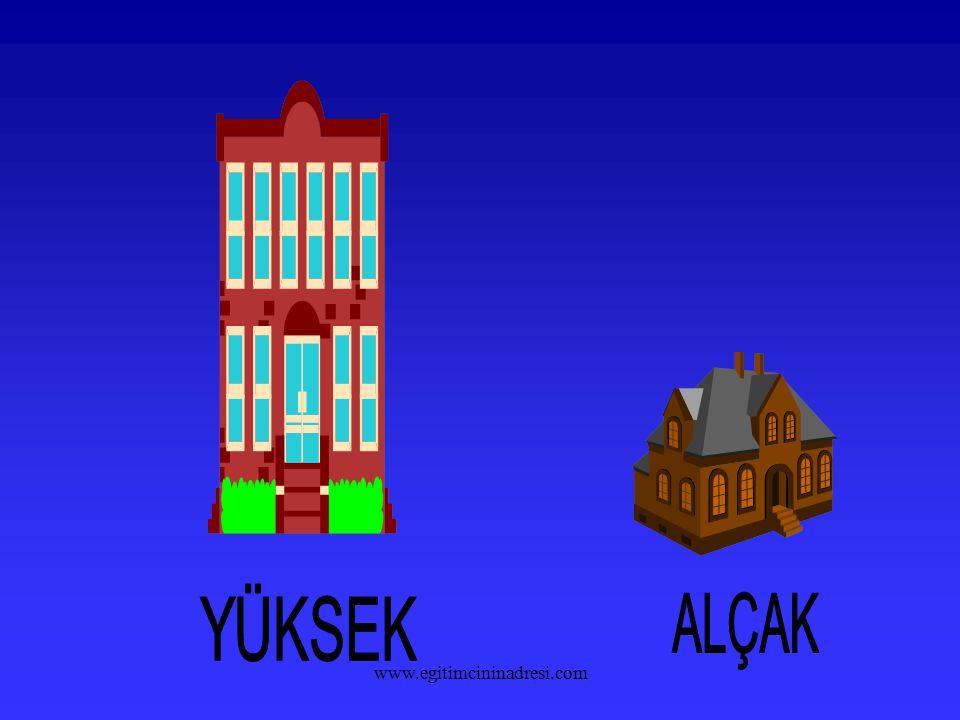 YÜKSEK ALÇAK www.egitimcininadresi.com
