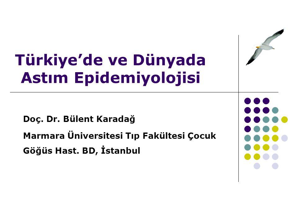 Türkiye'de ve Dünyada Astım Epidemiyolojisi