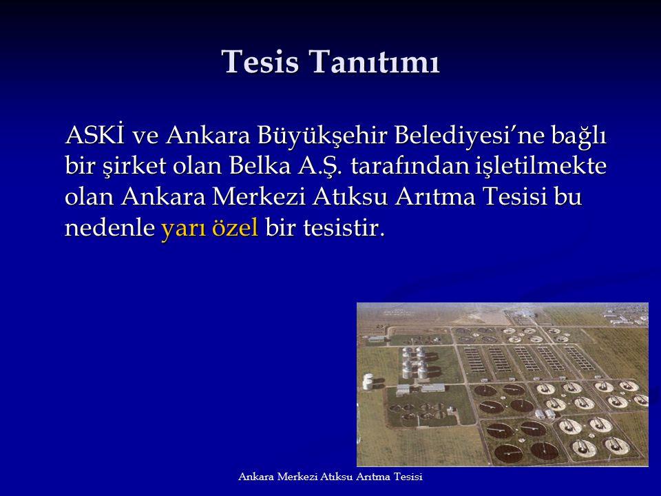 Ankara Merkezi Atıksu Arıtma Tesisi