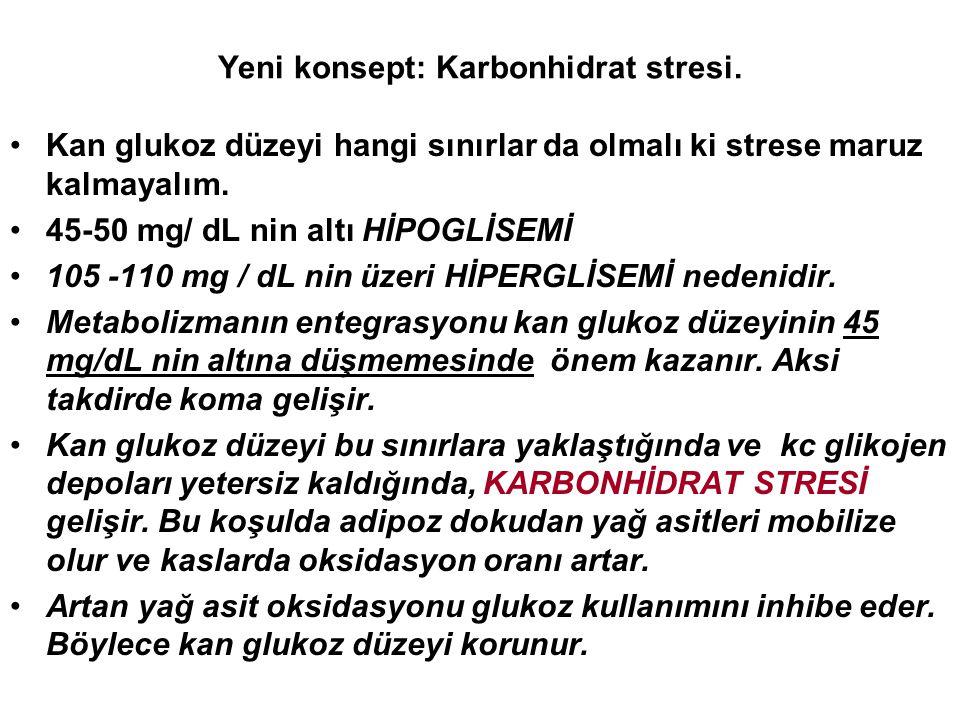 Yeni konsept: Karbonhidrat stresi.