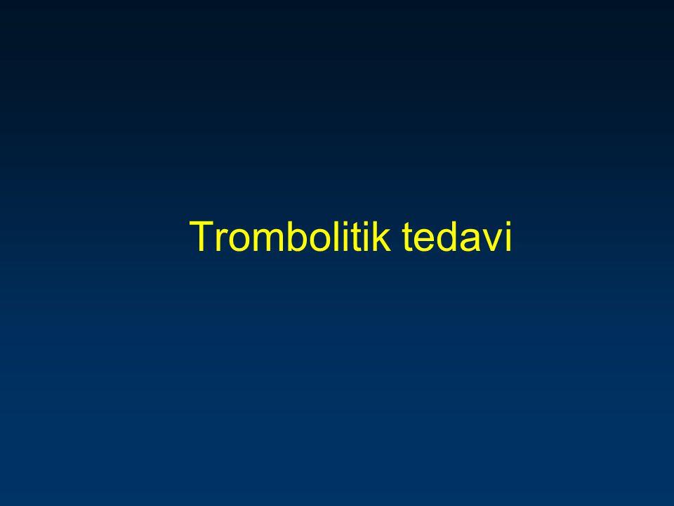 Trombolitik tedavi