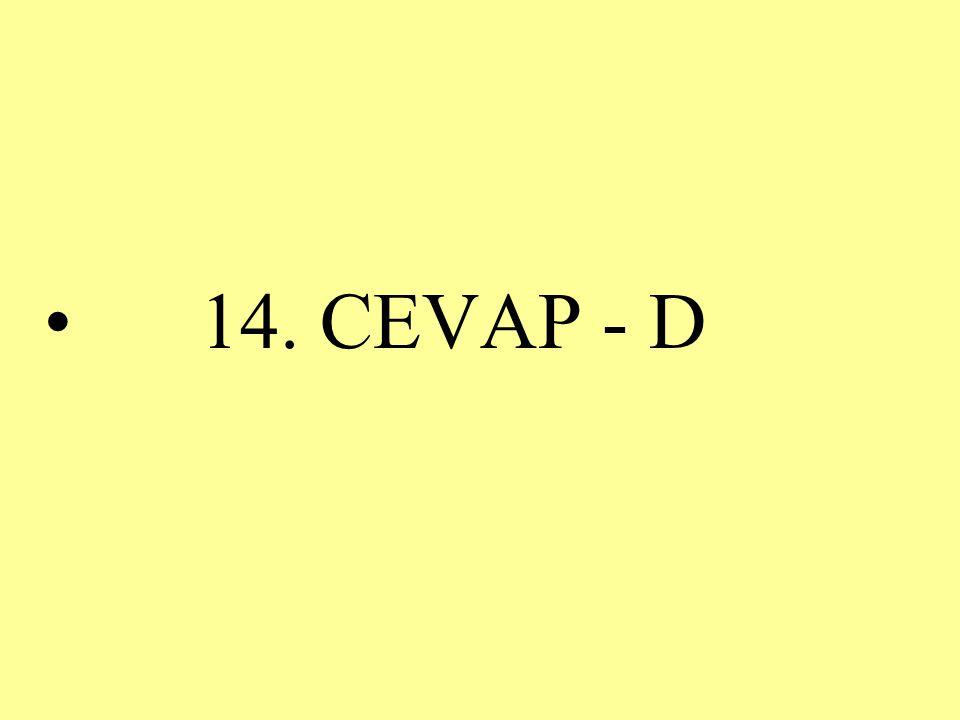 14. CEVAP - D